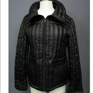 Halifax Traders goose down packable black puffer